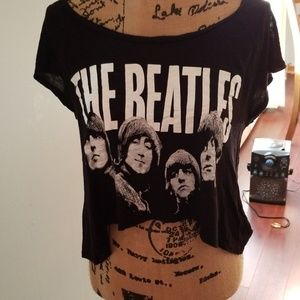 Beatles crop top!